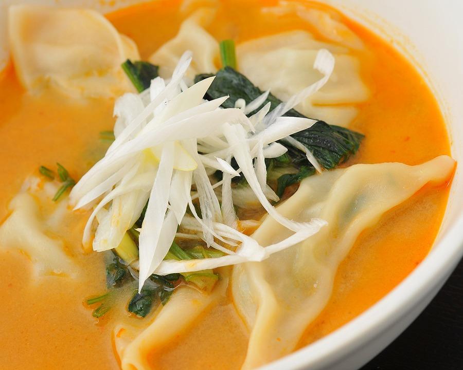 週変わりスープ餃子